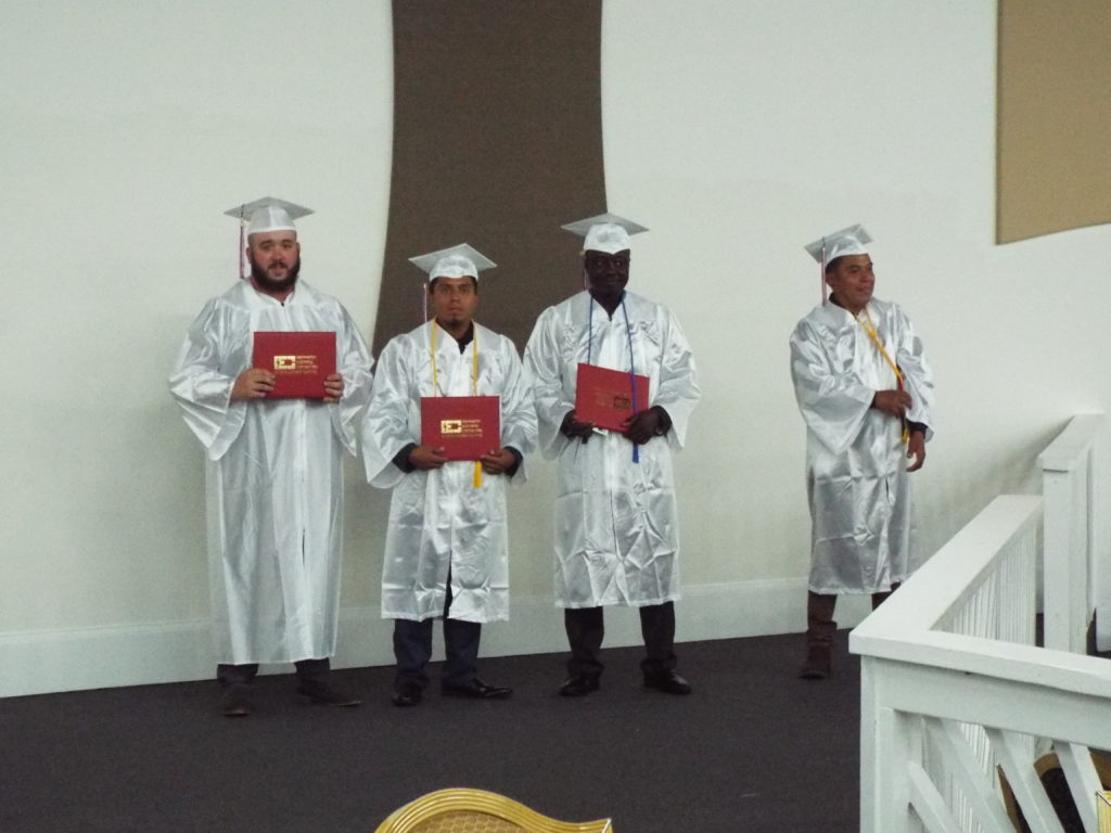 Mickey Anderson graduates from IEC Atlanta School
