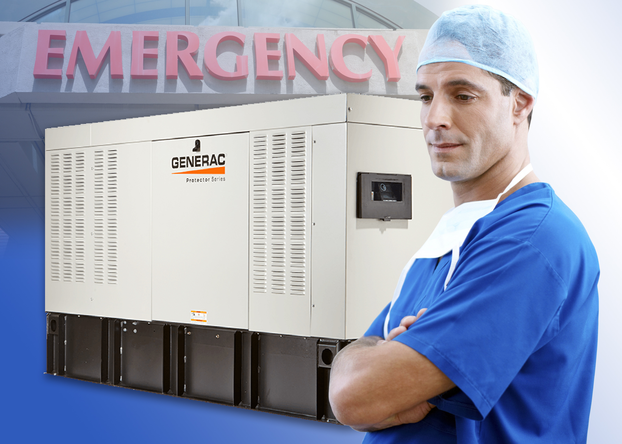 Ozburn Electric installs emergency and backup generators