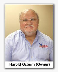 Harold Ozburn, owner of Ozburn Electric
