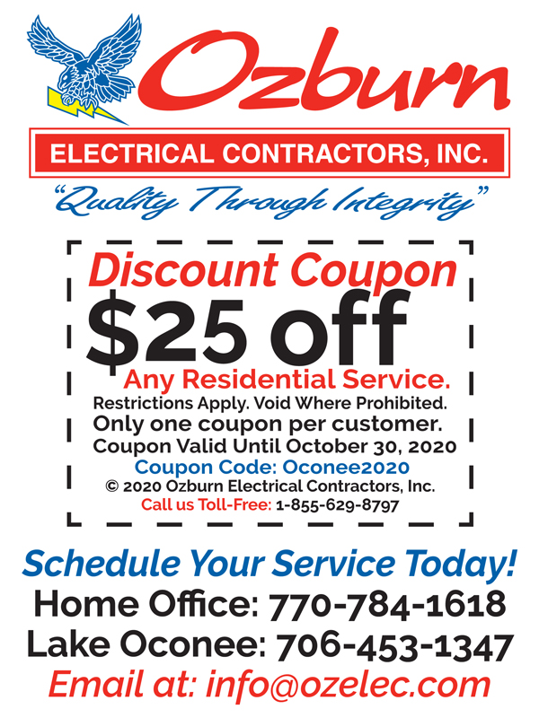 Residential Electrical Work Coupon