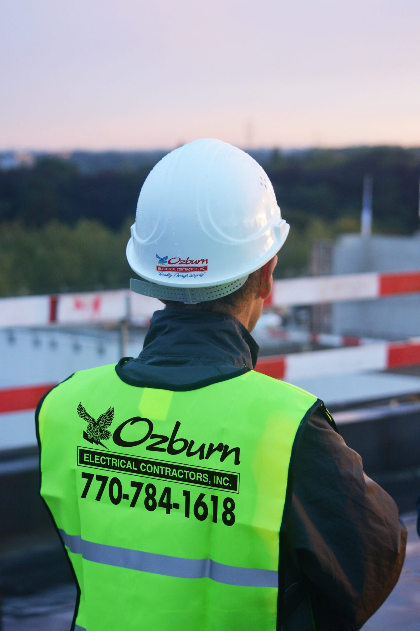 Safety First for Ozburn Electric