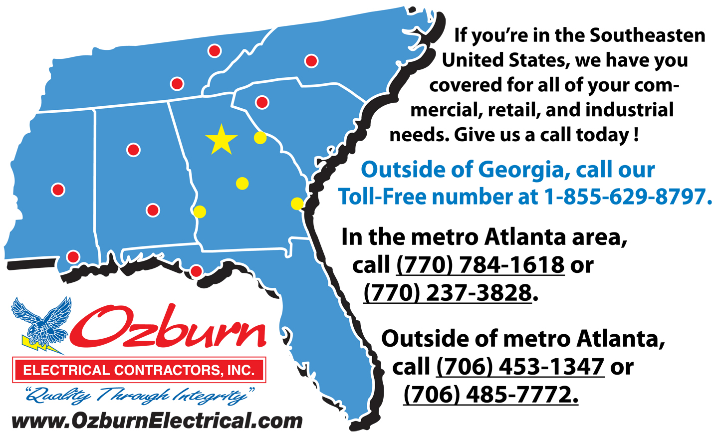 Ozburn Electric and Southern States